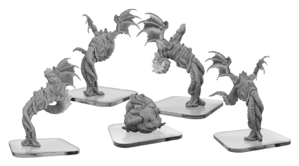 Squix & Meat Slave: Lords of Cthul Unit (resin)